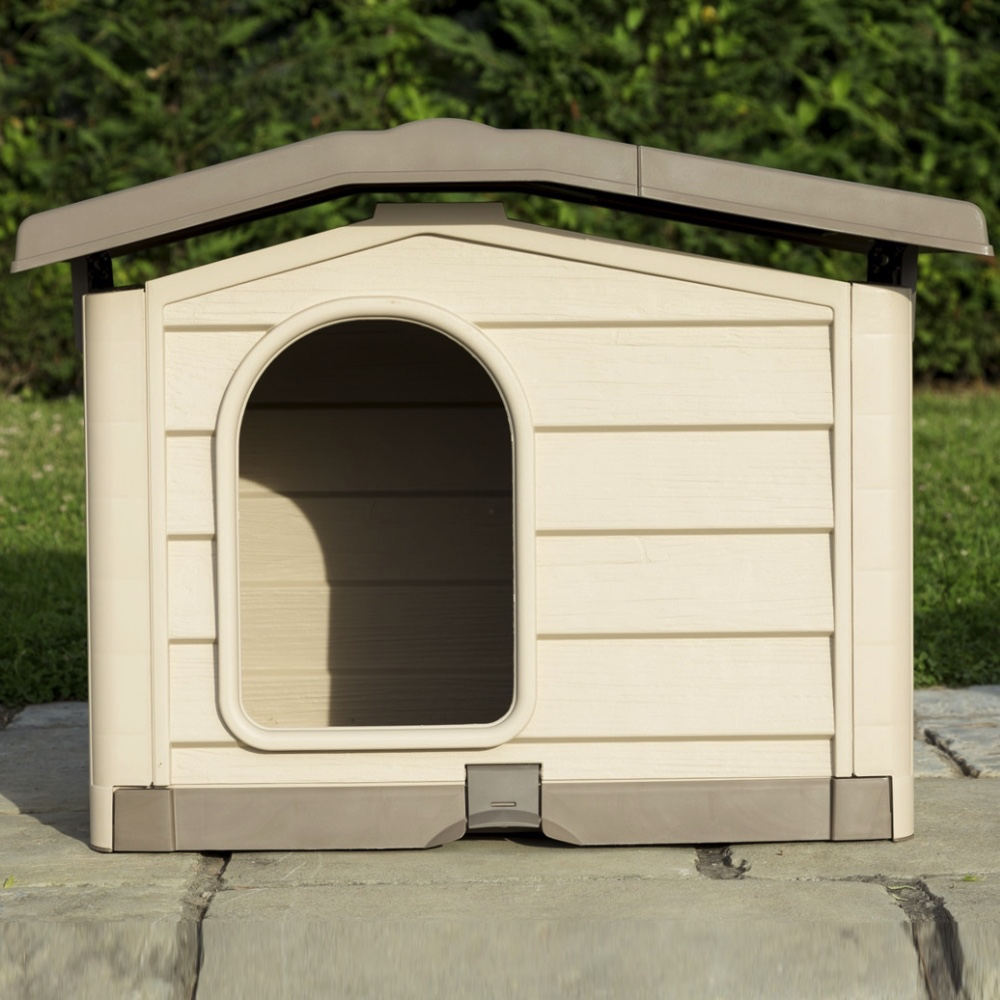 Cuccia per cani da esterno bungalow bama pet gea pet shop - Tiragraffi da esterno ...